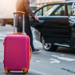 Pakowanie bagażu do taksówki