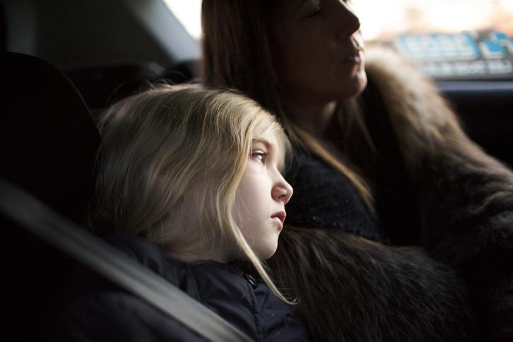 Dzieci w taxi